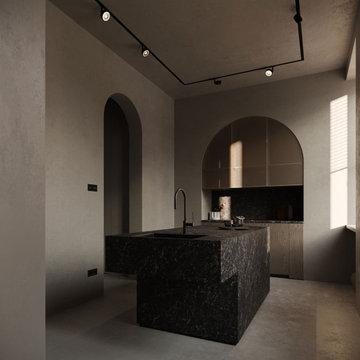 SG: appartamento 140mq, minimal mediterraneo, Milano, Italia