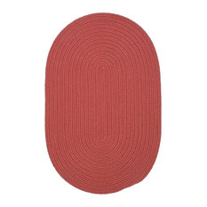 Colonial Mills, Inc - Boca Raton Rug, Terracotta, 12'x15' Oval - Outdoor Rugs