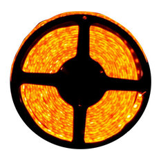 Orange Super Bright Flexible LED Light Strip 16', Reel Only