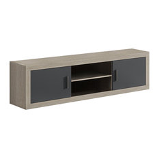 Elba Cambrian Modular TV Stand, Grey