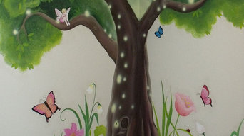 Kids room murals