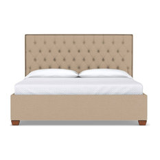 Apt2B - Huntley Drive Upholstered Bed, Beige, Queen - Panel Beds