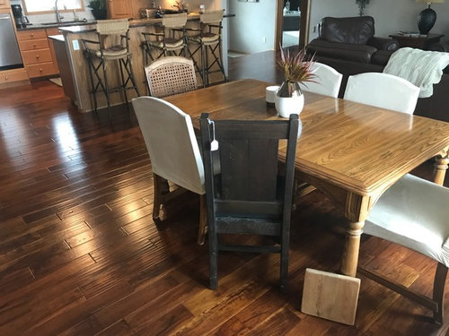 Please Help With Choosing A Dining Table Color