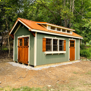 Craftsman Shed by Weaver Barns