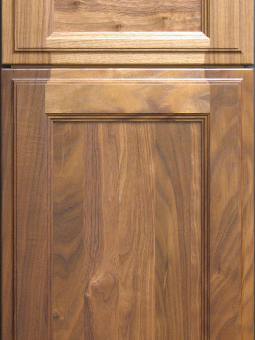 Custom Hardwood Cabinet Doors