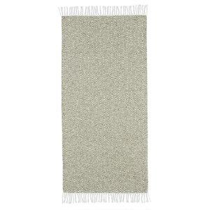 Goose Green Vinyl Floor Cloth, 70x300 cm