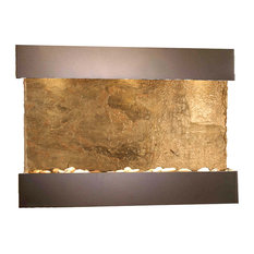 Reflection Creek Water Feature by Adagio, Natural Green Slate, Antique Bronze