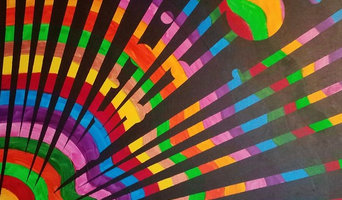 Mixin' The Colors Painting on wrapped canvas by CR Art Studio