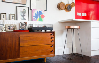 My Houzz: Vintage Fun in a London Flat