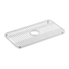 Kohler - Kohler Bakersfield Bottom Sink Rack, Stainless Steel - Kitchen Sink Accessories