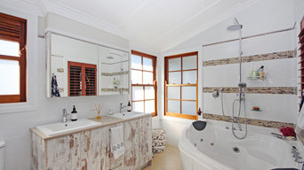 Modern ensuite with traditional charm