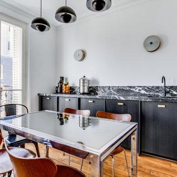 Rénovation complète d'un appartement haussmanien de 85m2 à Paris 17ème