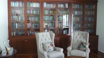 Jarrah Custom Made Bookcase