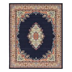 Traditional Anahita 8'x10' Rectangle Sapphire Area Rug