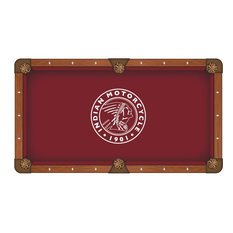 8' Indian Motorcycle, Outline Pool Table Cloth by Covers by HBS