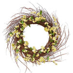 """Fantastic Craft Inc - 32"""" Cherry Blossom Wreath - Fantastic Craft offers a wide selection of home decor, gifts, and floral goods designed for all occasions. Designers and manufacturers work together to create exceptional, high-quality products with the best materials at the best prices.You're guaranteed to find something for every occasion!"""
