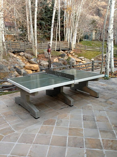 Concrete Table Tennis Tables, Beer Pong Tables, Cornhole Games, Chess Tables,  And A You Design Fiberglass Table That Can Go Outddoors Or In.