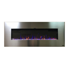 "Touchstone AudioFlare 50"" Recessed/Wall Mounted Electric Fireplace"
