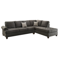 Transitional Sectional Sofas by Infini Furnishings