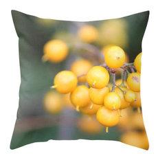 Orange Berries Pillow Cover, 16x16