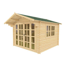 Wooden Garden Shed Kit Brightoln by Solid Build, 10'x10'