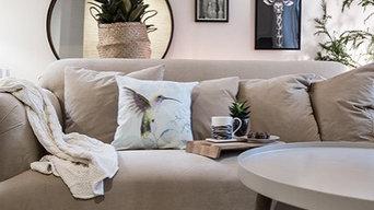 Wohnzimmergestaltung nach Einzug