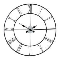 Southern Enterprises - Chronos Decorative Wall Clock - Wall Clocks