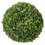 """Creative Displays & Designs, Inc. - 18"""" Boxwood Ball - 18 in boxwood ball that can be placed in any planter of your choice! Ask us about our Outdoor Boxwood Balls"""