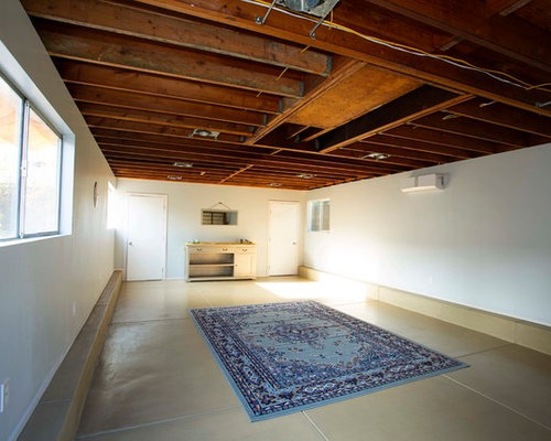 Garage Converted Into A Yoga Studio And Shower Was Built From