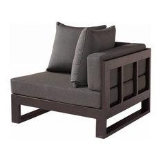 Amber Modern Outdoor  Corner Chair