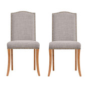 Evesham Dining Chairs, Charcoal, Set of 2