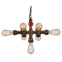 Fresh Industrial Chandeliers by unitary
