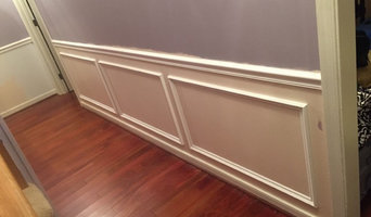 Chair rail and molding
