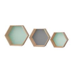- Boxes Display Förvaringsbox 3-Pack - Display- & vägghyllor