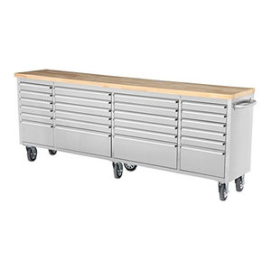 """72"""" stainless steel tool chest work station by Thor ..."""