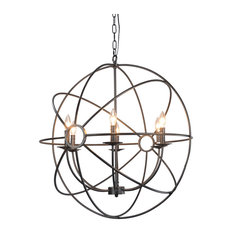 Voltaire Six Bulb Chandelier by Kosas Home