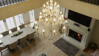 Residential Project - 25 Arm Elegance Chandelier - Clear and Chrome