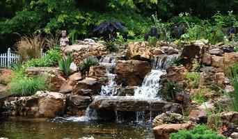 Monet Inspired Koi Pond and Garden
