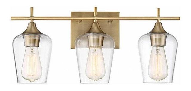 Savoy House Octave 2-Light Bath Bar - Transitional - Bathroom Vanity ...