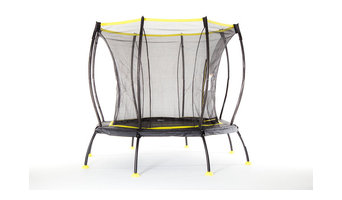 SkyBound Atmos 8' Trampoline with Full Enclosure Net System