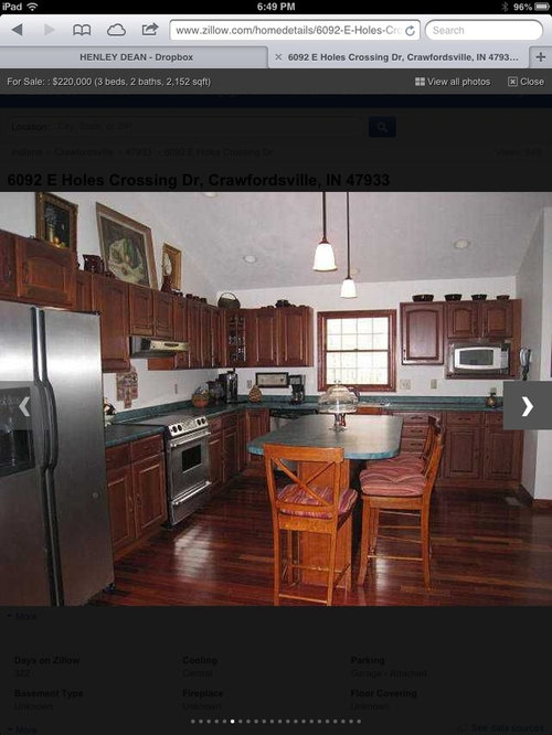 Living Room Color With Cherry Floors And Cabinets Vaulted
