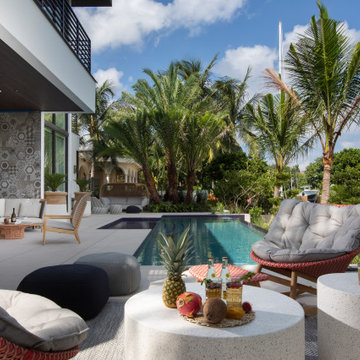 Modern Tropical Fort Lauderdale House