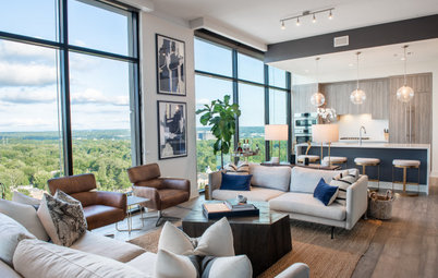 Tour a Bachelor's Classy and Inviting Penthouse in Atlanta