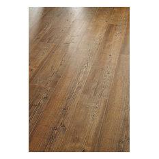 "5.69""x48.22"" Hydrocork Plank Collection Arcadian Pine, Set of 9, Rye"