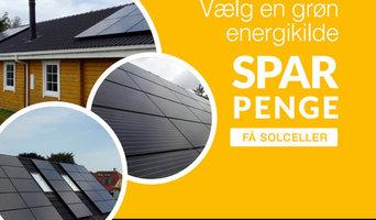 Brochure om solcelleanlæg