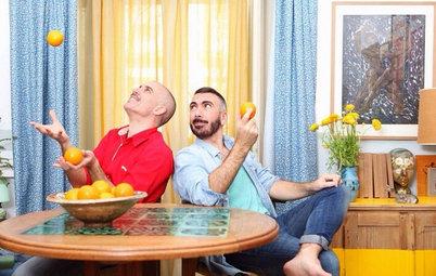 Casas Houzz: Una vivienda en Madrid donde se respira verano