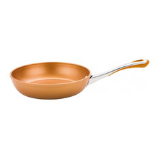 Prestige Prism Non Stick Frying Pan, Copper, 30 Cm