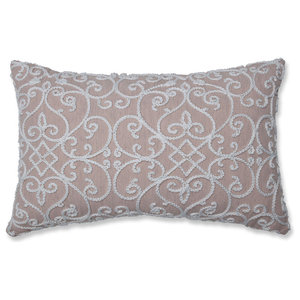 Serafina Dusty Rose Rectangular Throw Pillow