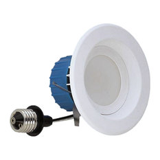 white led recessed downlight kit in 2700k recessed lighting kits