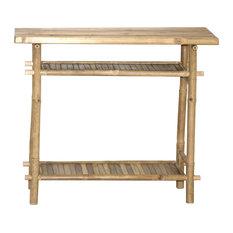 Bamboo Hallway Table